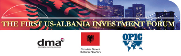 US-Albania Investment Forum, September 2011
