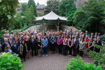 Leon Isaacs attended the G20 GPFI Workshop on the Financial Inclusion of Forcibly Displaced Persons in the Hague