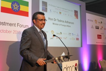 Hon Dr Tedros Adhanom, Minister of Foreign Affairs