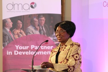 Her Honour Madam Inonge Wina, Vice President of the Republic of Zambia & Minister of National Planning