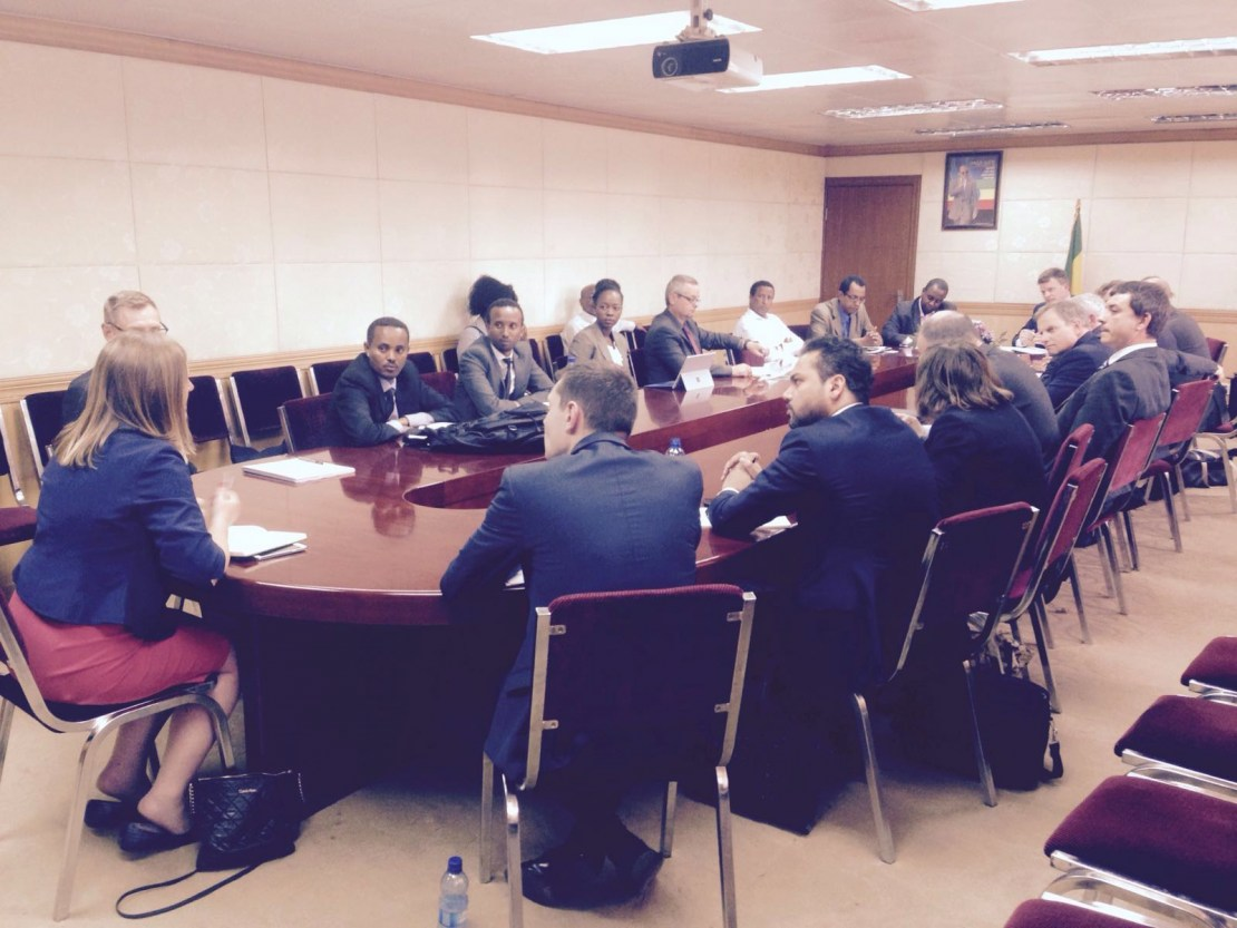 Meeting with the Ministry of Water & Energy
