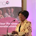 Her Honour Madam Inonge Wina at DMA's UK-Zambia Forum