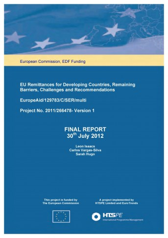 EU Remittances for Developing Countries, Remaining Barriers, Challenges and Recommendations